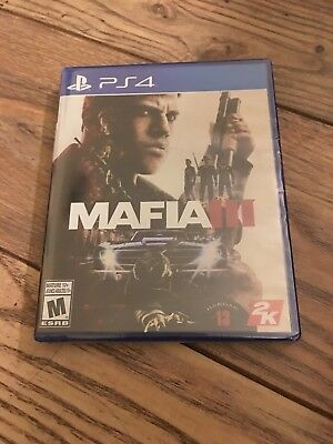 BRAND NEW! SEALED Mafia III 3 - PS4 (Sony PlayStation 4, 2016)