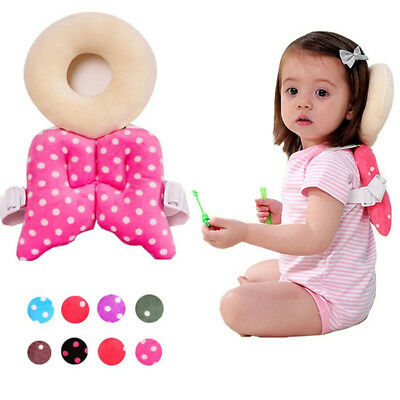 Baby Head Protection Pad Toddler Headrest Pillow Baby Neck Wings Nursing Drop