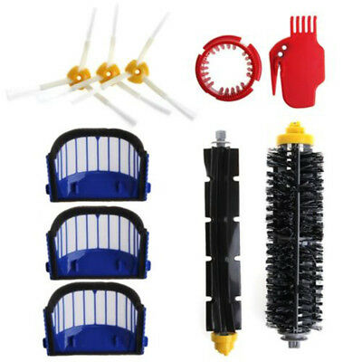 Side Brush&Filter Kit for iRobot Roomba 500/600/700 Series Vacuum Cleaning Robot