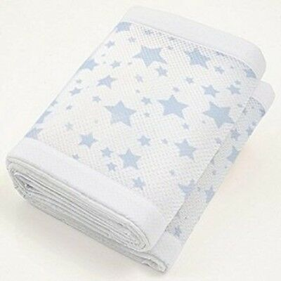 Breathable Baby Two-Sided Mesh Babies Cot Liner Bumper