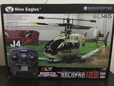 Nine Eagles Solo Pro 128 2.4GHz 4 Channel Electric Helicopter EC145 Eurocopter