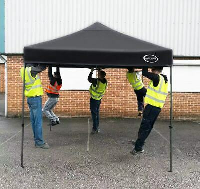 MAXIMUS® HEAVY DUTY GAZEBO 3mx3m HIGH QUALITY GAZEBO MARKET STALL POP UP TENT