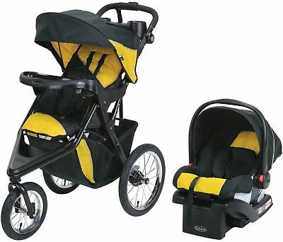 GRACO TRAX Jogger Click Connect Stroller Travel System, with ...