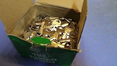 250 – 250 Hillman M-1 Key Blanks, for Master Padlock & others.  NEW in Box