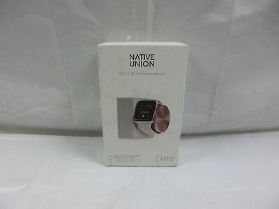 Native Union ‑ Apple Watch Charging Dock ‑ Stone/Rose Gold
