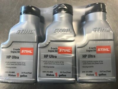 Stihl Ultra 2-Cycle Eng Oil 2.6 Ounce Bottles, 1-Gal Mix  6 Pack