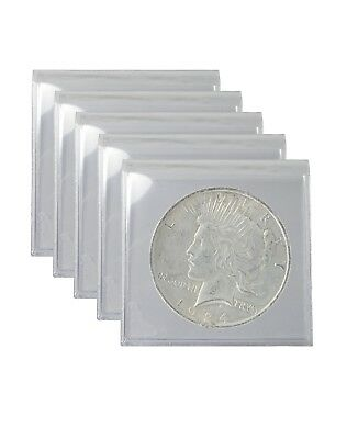 Silver Peace Dollar Cull Lot of 5 S$1 Dates Range From 1922 to 1935 Random
