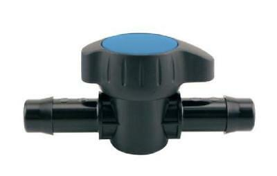 "1/2"" Shut Off Ball Valve Barbed Plastic Fitting For Hydroponic Irrigation Pipe"