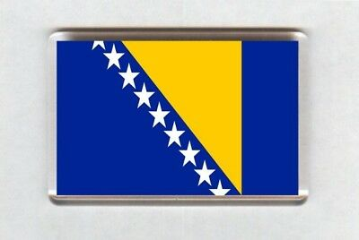 Bosnia and Herzegovina Flag Fridge Magnet