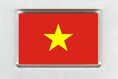 Vietnam Flag Fridge Magnet