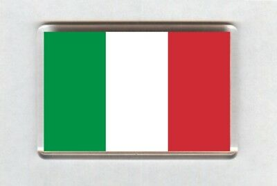 Italy Flag Fridge Magnet