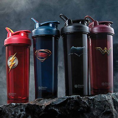 Blender Bottle DC Comics Superhero Series Pro32 oz. Shaker with Loop Top