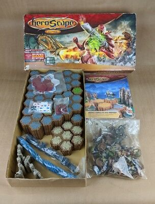 MB Heroscape Master Set Rise of the Valkyrie Game Battle all time missing 2 pcs