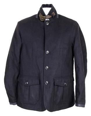 NEW J Crew Barbour Barkston Jacket Men'S XL Blue B0864 NWT