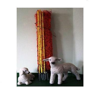 Sheep Fence 1 Point 90 cm 50 M Fence Meadow Net Electric Fence Fence