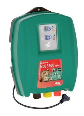 Electric Fence Power Pro NDI 6500 Digital 230 Volt Strong Network 20 Joule