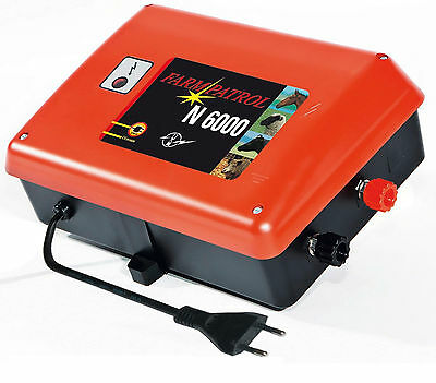 Electric Fence Farm Patrol N 6000 230V Fence Network 7,0 Joule Device