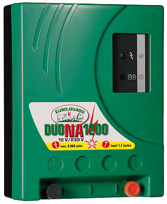 Electric Fence Euro Guard Duo na 1200 12/230 Volt Network stromgerät 392042