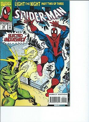 Spider-Man #39 VF+ 1993 Marvel Comics Electro