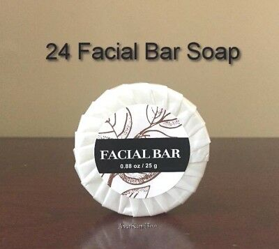 LANDE 24 Facial Bar Soap Individual Pleated Wrapped BUY in BULK & SAVE Reduced!