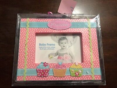 """New Baby Essentials Picture Frame-""""lil' cupcake"""""""