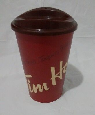 Tim Hortons 2017 Travel Cup 12oz Reusable w/ Lid 150th Canadian Limited Edition