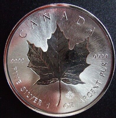 FREE SHIPPING 1 oz 30th Anniversary Incluse Silver Maple Canada 2018 Coin $5