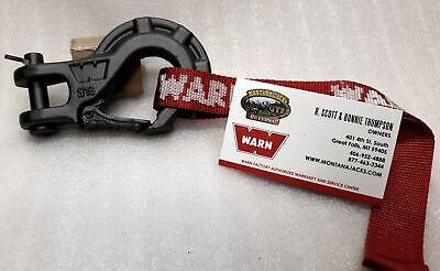 """WARN 92089 Epic Premium Winch Hook 5/16"""" for Winches up to 5,000 lbs."""