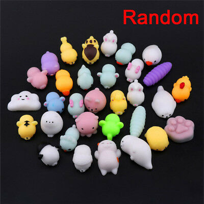 10/20/30PCS Random Squishy Lot Slow Rising fidget Kawaii Cute Animal Hand Toy HI