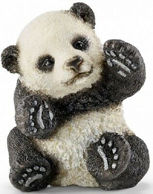 Schleich 14734 Panda Young One Playing 5 cm Series Wild Animals