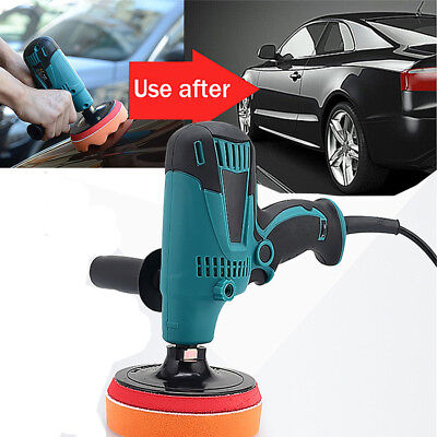 220v 6 Speed Adjustable Car Polisher  Paint Care waxing machine 150mm disc DI