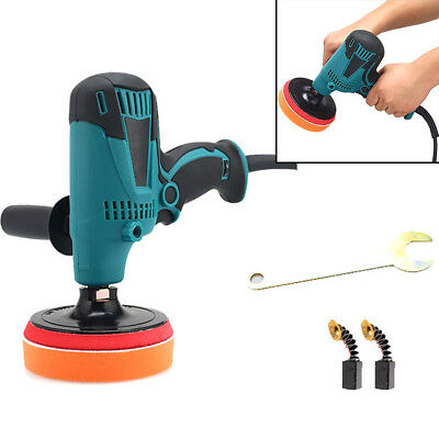 """7"""" Electric Polisher Variable Speed Buffer Waxer Sander 220v 600w 6 stalls speed"""