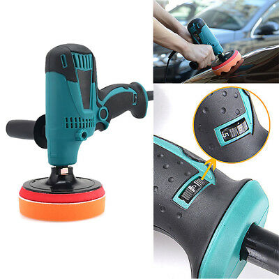"7"" Electric  Car Polisher Paint Care waxing machine furniture porcelain polisher"