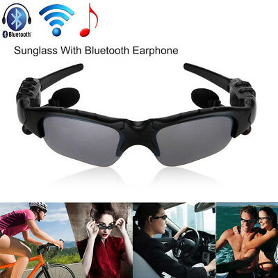 Sunglasses Bluetooth Talk Function Stereo Headset Headphone Glasse Mic For Phone