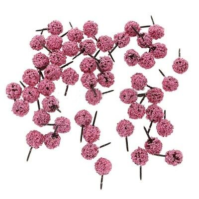 50pcs 20 X 30mm N Z GAUGE SCALE FLOWER FRUIT TREES SHRUBS