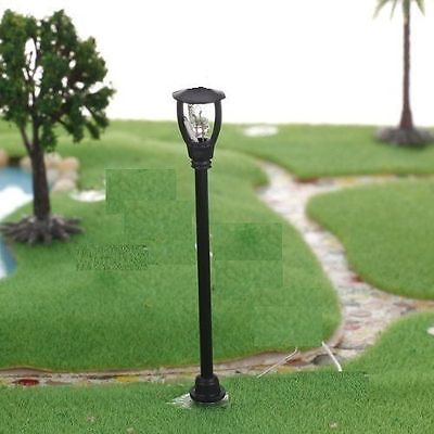 10pcs Single Head Garden Park Street Lights Lamps Lampposts HO/TT SCALE
