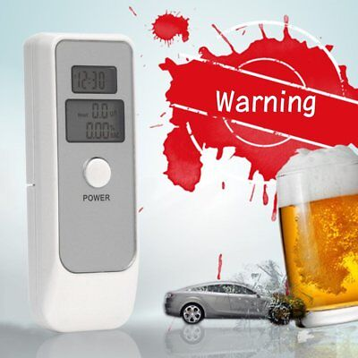 Portable Digital Alcohol Breathalyser Breath Tester Breathtester w/ Dual LCD M2