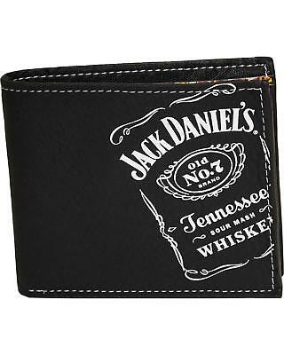 Jack Daniel's Men's Whisky Billfold Wallet  Black
