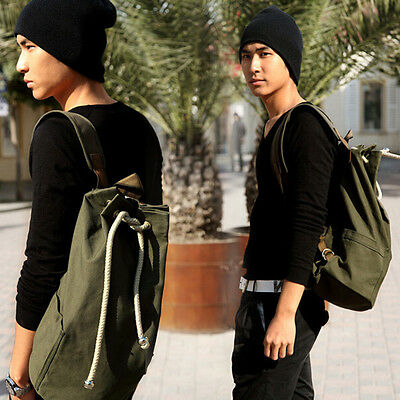 Outdoor Sport Pack Gym Duffle Bag Drawstring Backpack for Travel School.