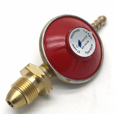 Propane Screw In Type Regulator 37mb Calor  6kg and 13kg cylinders