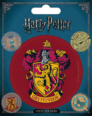 Harry Potter (Gryffindor) 5 Vinyl Stickers Pack * OFFICIAL PRODUCT *