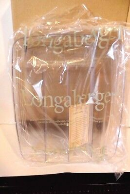 2001 Longaberger Flatware Basket Protector Only - New in Box