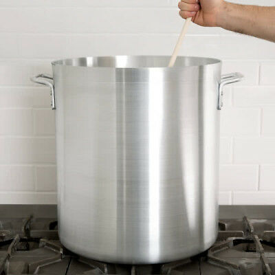 60 Qt. NSF Standard Weight Aluminum Restaurant Kitchen Cooking Stock Pot NEW