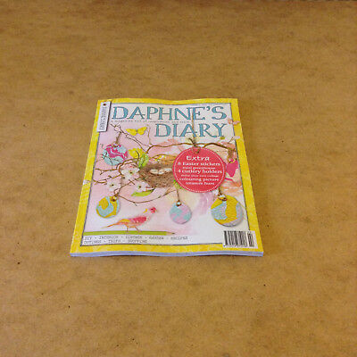 DAPHNE'S DIARY No.2 2018 EASTER STICKERS CUTLERY HOLDERS COLOURING CRAFT IDEAS