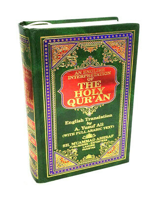 The Holy Quran Arabic Text with English Translation - A. Yusuf Ali (HB)