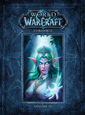 World Of Warcraft Chronicle Volume 3 by Blizzard Entertainment Hardcover Book Fr