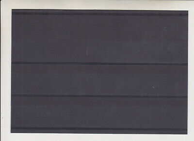 100 x 3 strip New Prinz Stamp Stockcards Stock Cards with Counterfoil