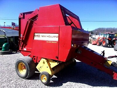 New Holland 640 Round Baler (estate) size 4 x 5 CAN SHIP @ $1.85 loaded mile