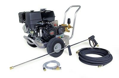 Hotsy Cold Water Pressure Washer 2700 PSI 3.0 GPM Gas Engine Belt Drive