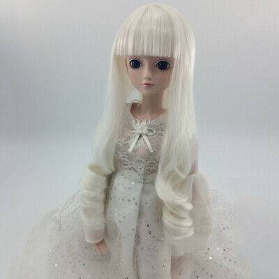 1/4 or 1/6 Wig Hairpiece Curly Hair for BJD SD LUTS Dolls DIY Making & Repair